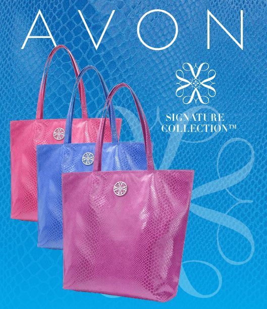 """Avon is a collection of bags, """"Cabella"""""""