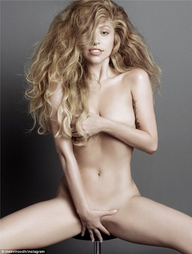 Lady Gaga: so you have not seen it! (18+)