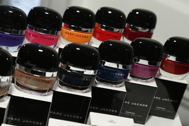 Marc Jacobs presented his first collection of cosmetics